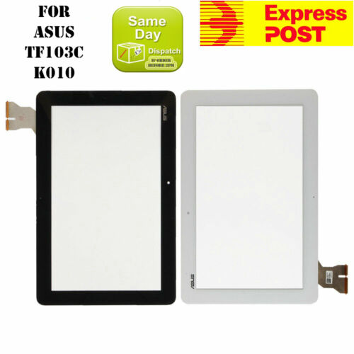 NEW ASUS TRANSFORMER PAD 10.1'' TF103C K010 TOUCH SCREEN DIGITIZER GLASS WHITE