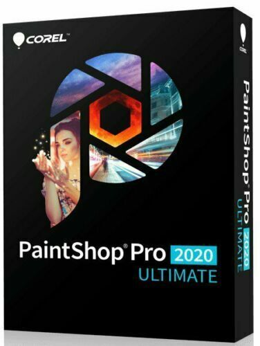 Corel PaintShop Pro 2020 Ultimate SEALED PC DISC INCLUDED
