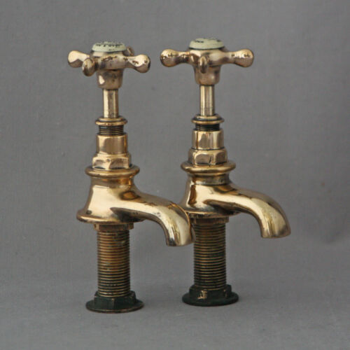 Edwardian Antique Basin Taps