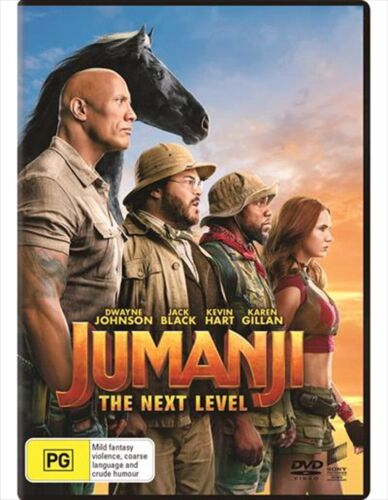 JUMANJI - The Next Level : NEW DVD