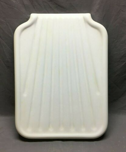 Vintage Cast Iron White Porcelain Sink Extension Richmond Drainboard  256-20B