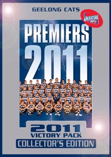AFL - Geelong CATS 2011 Victory Pack COLLECTORS EDITION (DVD, 4 Disc Set)
