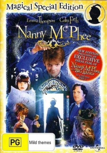 Nanny McPhee - Magical Special Edition (DVD, 2010) Brand New & Sealed R2, 4