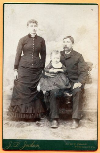 Williamsport, PA, Portrait of a Family, by Jackson, circa 1880s
