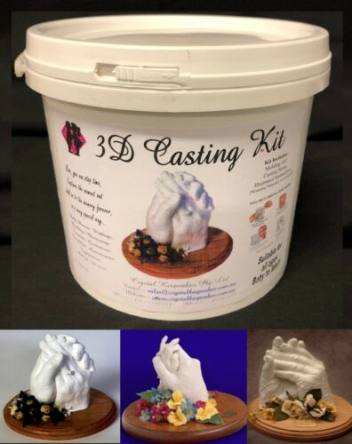 ADULT DIY CASTING KIT- TGA Approved. 100% Safe. Aussie owned business