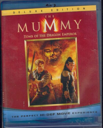 The Mummy Tomb of the Dragon Emperor Deluxe Edition Blu-Ray Movie FREE POSTAGE!