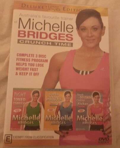 Michelle Bridges Crunch Time Deluxe Edition DVD