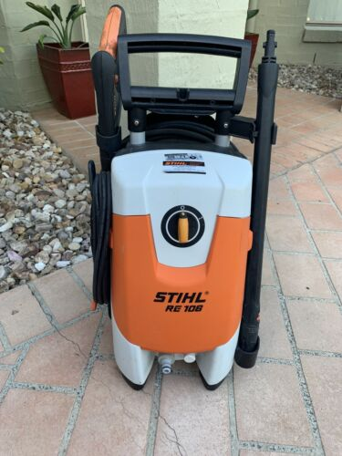 Used Stihl RE 108 electric pressure washer