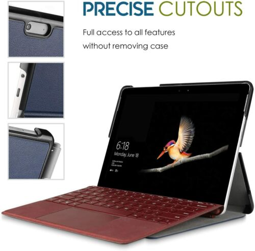 CASE for Microsoft Surface Go 2018 Compatible With Surface Type Cover Pen Holder