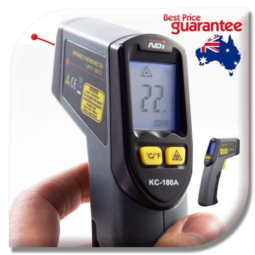 Non-Contact Infrared IR Thermometer Temperature Laser Gun Non-App Version 180A <br/> INDUSTRIAL THERMOMETER + VIC STOCK + 12 Months Warranty