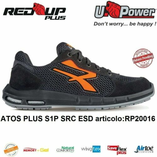 U POWER SCARPE ANTINFORTUNISTICHE ATOS PLUS S1P SRC ESD U-POWER RED UP PLUS