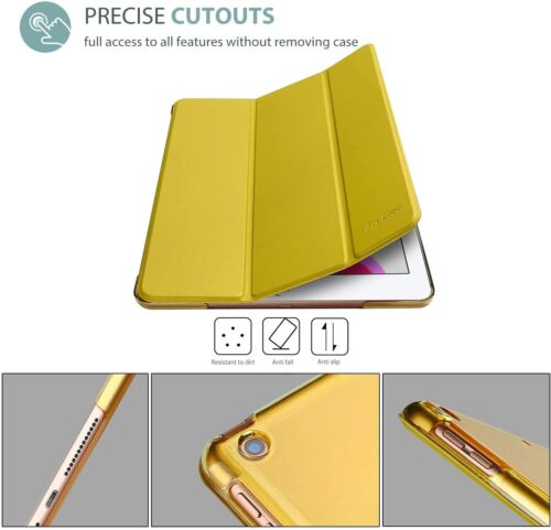 CASE for iPad 10.2 Case 2019 IPad 7th Gen,Slim Stand Hard Back Shell Smart Cover