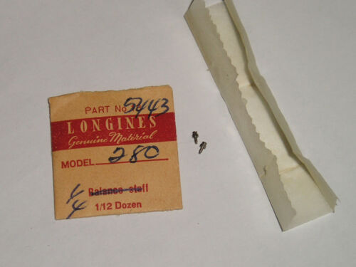 1 Longines 280 281 284 285 screw for setting lever / part 5443 (1 piece)