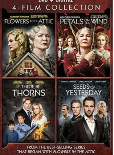 Virginia Andrews Flowers in the Attic 4 DVD Movies Petals In Wind Thorns Seeds