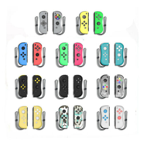 Nintendo Switch Compatible Joy Con Controllers Brand New Joycons Black Gold Red