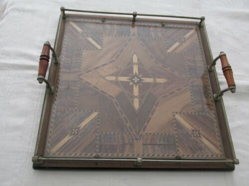 Fabulous Australian Timber Inlaid Inlay Tray Believed to be Thomas Griffith Qld