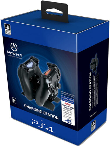 FAST PS4 Charger Charging Station Dock Dualshock With USB Cable - PlayStation 4