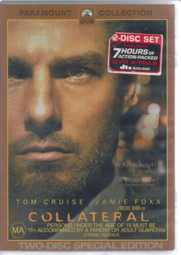 Collateral DVD Movie - Tom Cruise - FREE POST!