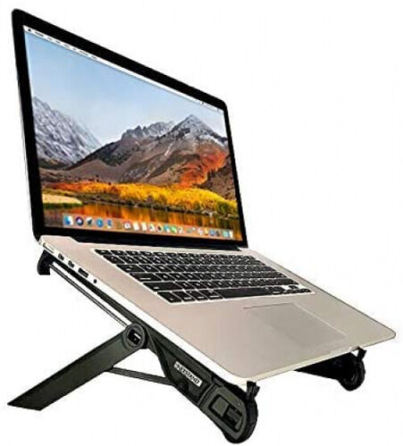 Laptop Notebook Stand,Foldable Portable Stand Riser Holder Light Easy to Carry