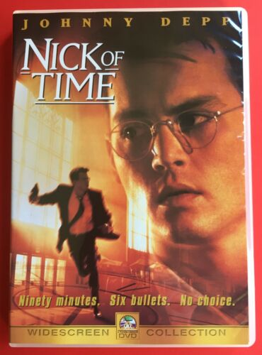 Nick Of Time DVD Johnny Depp Region 3 Brand New And Sealed