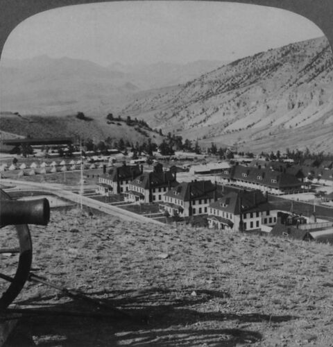 Keystone Stereoview US Troops: Fort Yellowstone, YNP 30 Card Set Early 1900's #4