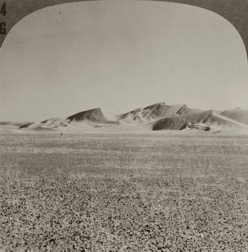 Keystone Stereoview Sand Dunes, Death Valley From Rare 1930s Death Valley Set #4