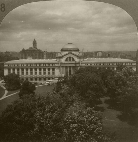 Keystone Stereoview The National Museum From Rare Washington, DC Set 1920's # 18