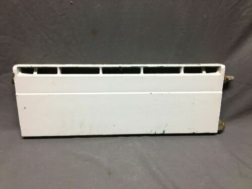 Antique Baseboard Hot Water Radiator Section 9x24 Cast Iron Heating Vtg 508-20B