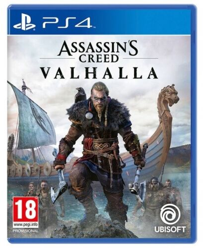 ASSASSIN'S CREED VALHALLA PS4 ITALIANO GIOCO PLAY STATION 4 VIDEOGIOCO PAL ITA