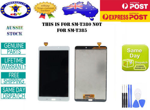 SAMSUNG GALAXY TAB A 8.0 2017 SM-T380 LCD DISPLAY+TOUCH SCREEN DIGITIZER WHITE
