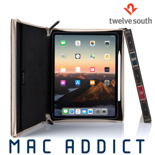 "Twelve South BookBook Vol. 2 Leather Folio Case Stand For iPad Pro 12.9"" 3rd Gen"
