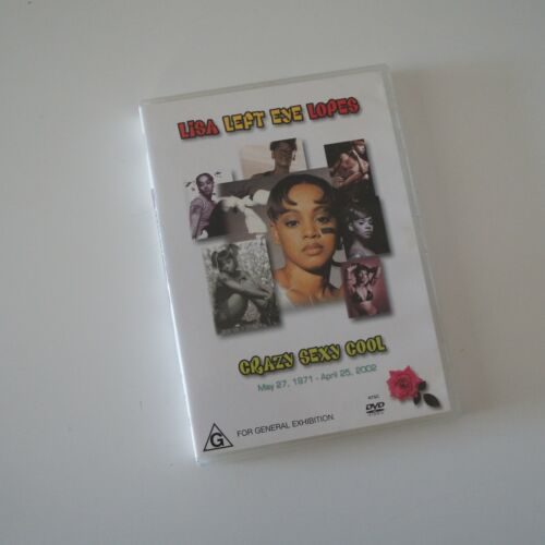 LISA 'LEFT EYE' LOPES - Sexy Crazy Cool DVD Multiple Formats Color Mint