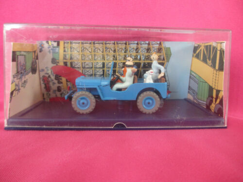 VOITURE COLLECTION ATLAS TINTIN OBJECTIF LUNE JEEP WILLYS