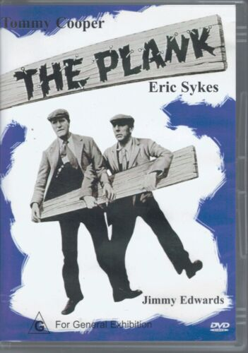 The Plank DVD Movie - Eric Sykes - Tommy Cooper - FREE POST!