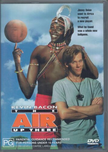 The Air Up There DVD Movie - Kevin Bacon - FREE POST!