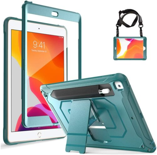 CASE for iPad 10.2 7th Generation Rugged w/Built- In Screen Protector Shockproof