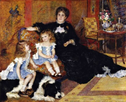 Madame Georges Charpentier Painting by Auguste Renoir Art Reproduction