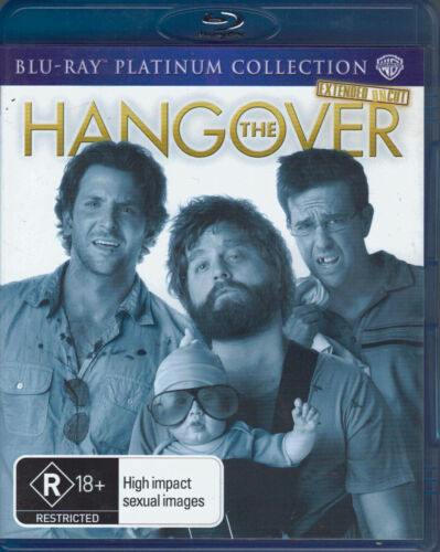 The Hangover Blu-Ray Movie - Extended Uncut - FREE POST!