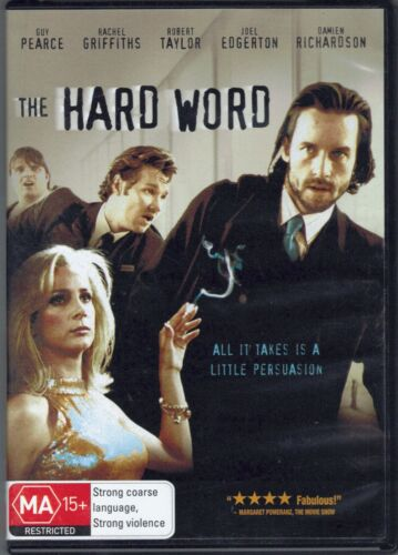 The Hard Word DVD Movie - Guy Pearce - FREE POST!