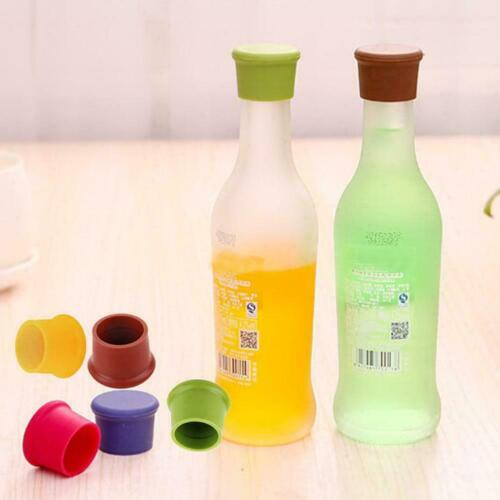 Silicone Wine Beer Cover Bottle Cap Stopper Kitchen Tool Safe Gadget Bar F7s8