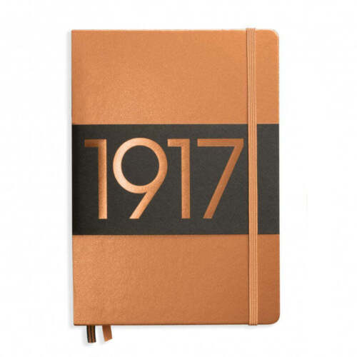 Leuchtturm1917 Metallic Limited Edition Hardcover Notebook - Ruled - Copper - A5