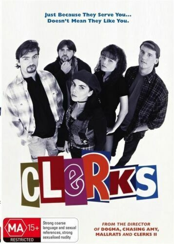 Clerks Collectors Edition DVD Movie - Kevin Smith - FREE POST!