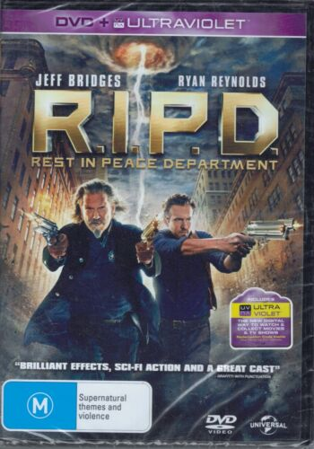 RIPD Rest In Peace Department - NEW DVD Movie - Jeff Bridges - FREE POST!