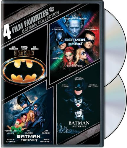 Batman: The Motion Picture Anthology 1989-1997 DVD New & Sealed