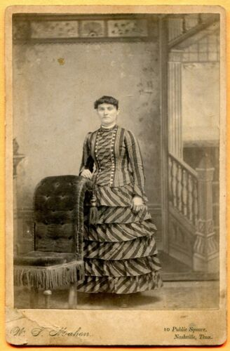 Nashville, TN, Portrait of a Young Woman, by Mahon, circa 1880s