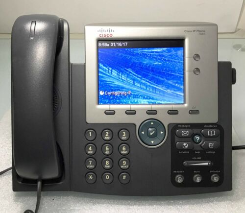 CISCO CP-7945G - Cisco Unified IP Phone (VoIP) - Colour LCD w/ Latest Firmware