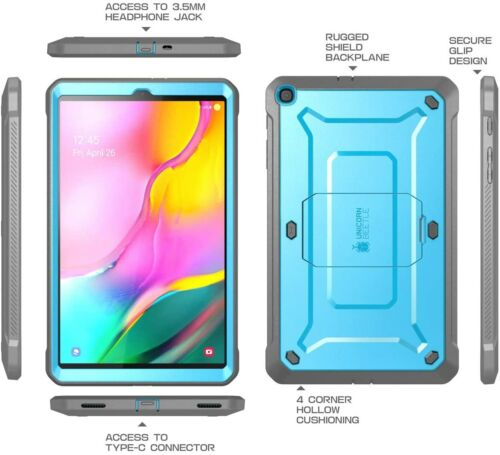 CASE For Galaxy Tab A 10.1 (2019 Release),Full-Body w/ Built-in Screen Protector