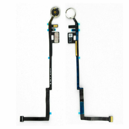 "Home Button Flex Cable For iPad 5th Gen 9.7"" 2017 Model Number A1822 A1823 WHITE"
