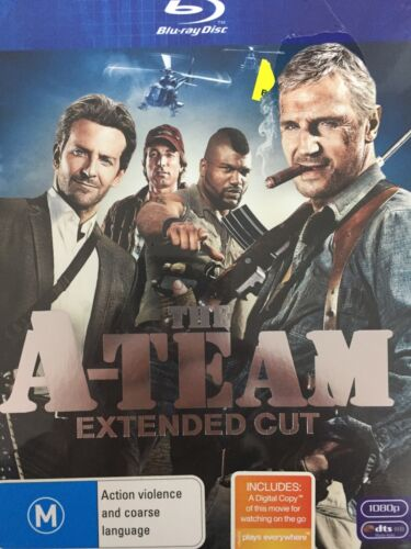 THE A-TEAM (2010) - BLURAY BRAND NEW!