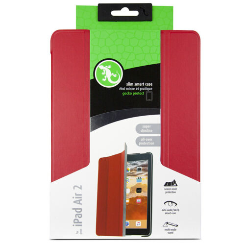Gecko Slim Smart Case for iPad Air 2 - Red - RRP $49.95